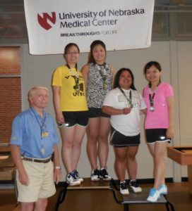 2018 Cornhusker State Games - Recreational, Senior, Youth, High School, & Para-Badminton Events @ University of Nebraska Medical Center, Student Life Building/Center | Omaha | Nebraska | United States